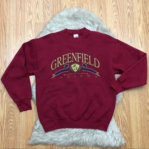 Vintage Greenfield Indiana Sweater Size Large
